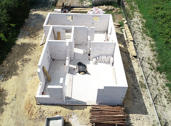 Monitoring postępu prac budowlanych