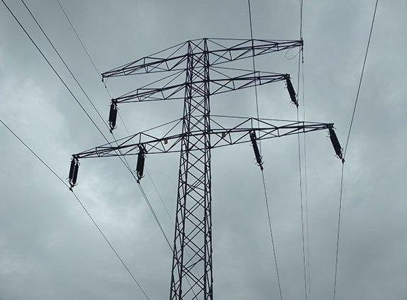 Pomiary zwisów przewodów energetycznych